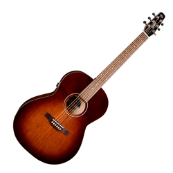 Seagull 041886 Entourage Folk Burnt Umber QIT Acoustic Electric Guitar 6 String