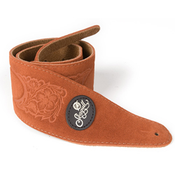 Seagull 037353 Rust Western Suede Strap w/Patch Logo