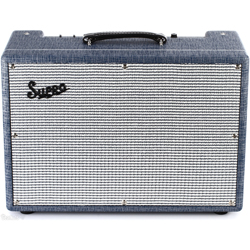 "Supro 1650RT Royal Reverb - 60/45/35W 2x10"" Guitar Combo Amp"