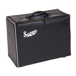 "Supro VC10 Black Vinyl Amp Cover w/Logo - 1x10"""