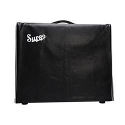 "Supro VC15 Black Vinyl Amp Cover w/Logo - 1x15"""