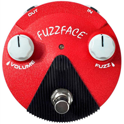 Dunlop FFM6 Band of Gypsys Fuzz Face Mini Guitar Pedal