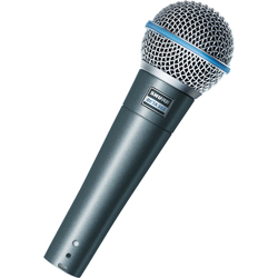 Shure Beta 58A Supercardioid Dynamic Vocal Mic