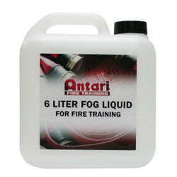 ANTARI FLP-6 High Density Fog Fluid for fire training. (4 BOTTLE MIN PURCHASE)