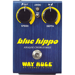 Dunlop WHE601 Way Huge Blue Hippo Chorus Guitar Pedal (discontinued clearance)