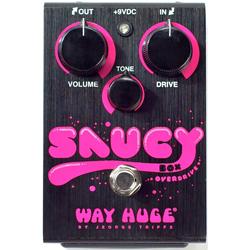 Dunlop WHE205 Saucy Box Overdrive Guitar Pedal