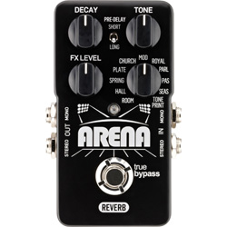 TC Electronic Arena Reverb Guitar Pedal (discontinued clearance)