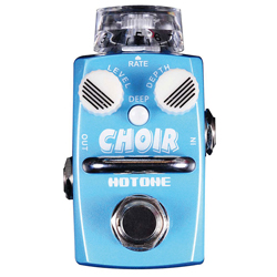 Hotone SCH1 CHOIR Single Footswitch Analog Chorus Pedal