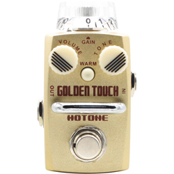 Hotone SOD3 Golden Touch, single Footswitch analog overdrive pedal