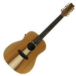 Cole Clark CCFL2E-12-BLBL 12 String Guitar w/PU-Blackwood/Blackwood