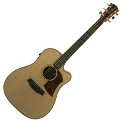 Cole Clark CCFL2EC-CB Dreadnought Guitar w/PU & Cutaway-Cedar/Blackwood
