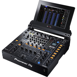 Pioneer DJ DJM-Tour1 - 4 Channel Pro DJ Mixer with Screen 13in