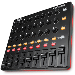 AKAI MIDI MIX Compact High-Performance Portable Mixer/DAW Controller