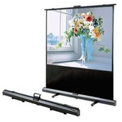 Grandview GV-UX80-4 CB-UX 80 Portable Cyber X-Press (Self-Locking Supports) Manual Pull-Up Screen 4:3 Format