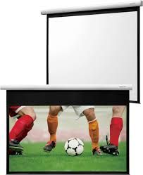 """Grandview FA-MIR 77 Integrated Fantasy Series Motorized 77"""" Screen With White Casing 16:9 Format"""