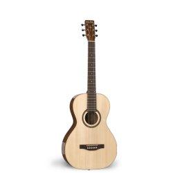 Simon & Patrick 033690 Woodland Pro Parlor Spruce HG Acoustic 6 String Guitar