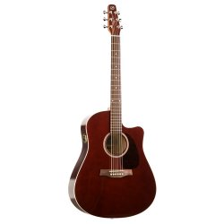 Seagull 035199 Entourage Burgundy CW GT QI Acoustic Electric  6 String Guitar