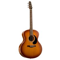 Seagull 032907 Entourage Rustic Mini Jumbo QI Acoustic Electric  6 String Guitar (discontinued clearance)