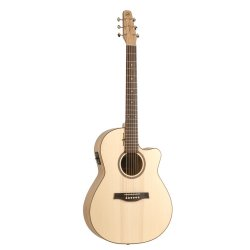 Seagull 036394 Natural Cherry CW Folk SG T35 Acoustic Electric  6 String Guitar