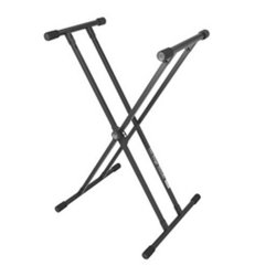 On Stage Stands KS8191 Lok-Tight Classic Double-X Keyboard Stand