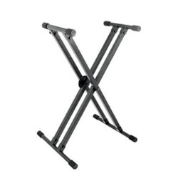 On Stage Stands KS8291 Lok-Tight Pro Double-X ERGO-LOK™Keyboard Stand