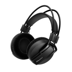 Pioneer DJ HRM-7 Reference Studio Headphones with Detachable Cord Black