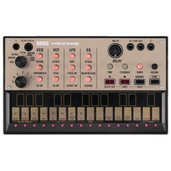 Korg DJ VOLCA-KEYS Analog Loop Synthesizer with 16 step-Sequencer