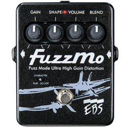 EBS-FM FuzzMo 9 Volt distortion Bass Pedal