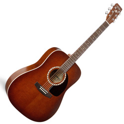 Art & Lutherie 014309 Cedar Antique Burst 6 String Acoustic Guitar(discontinued clearance)