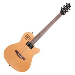 Godin 030293 A6 Ultra Natural SG 6 String Acoustic Electric Guitar with Bag
