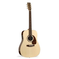 Norman 031665 Studio ST68 Case 6 String Acoustic Electric Guitar with Deluxe TRIC Case