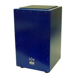 SARGA 040056 Cajon Pro Live with B-BAND EQ - Trans Blue Burst