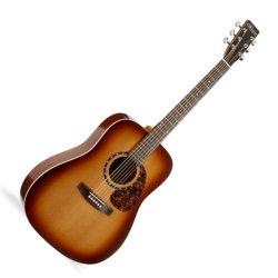 Norman 027316 Protege B18 Cedar Tobacco Burst 6 String Acoustic Electric Guitar