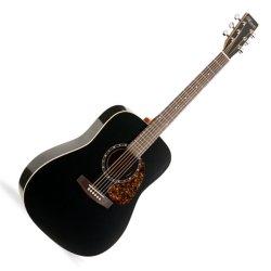 Norman 027323 Protege B18 Cedar Black 6 String Acoustic Electric Guitar