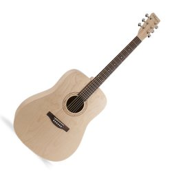 Norman 039777 Expedition Natural Solid Spruce SG 6 String Acoustic Electric Guitar
