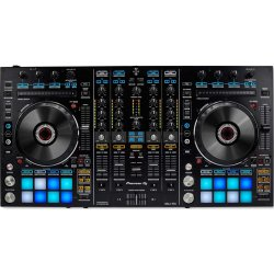 Pioneer DJ DDJ-RX 4 Channel Rekordbox DJ Controller with Pads