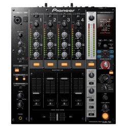 Pioneer DJ DJM-750-K 4 channel, all purpose, all style DJ Mixer - Black