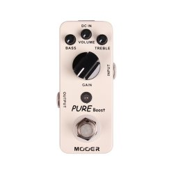Mooer MBT2 Pure Boost Clean Boost Pedal