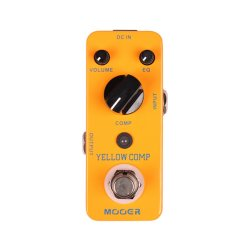 Mooer MCS1 Yellow Comp Compressor Pedal