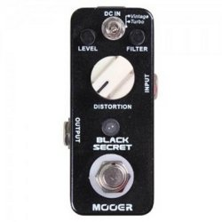Mooer MDS1 black Secret Distortion Pedal