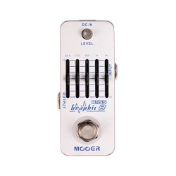 Mooer MEQ2 Graphic B Bass Equalizer Pedal