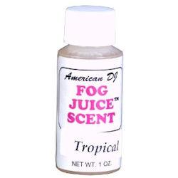American DJ F-SCENT-TROPICAL Tropical Fog Fluid Scent