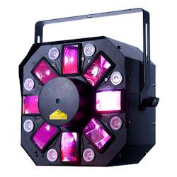 American DJ Stinger II DMX 3-in-1 LED Effect Fixture w/ 6x 5W RGBWYP Laser UV