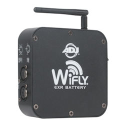 American DJ WIFLY-EXR-BATTERY Wireless EXR DMX Transceiver Battery Powered 2.45GHz 2500ft