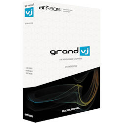 American DJ GRAND-VJ-2.0-UG 8 Layer VJ Software - V2.0