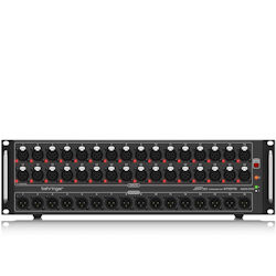 Behringer S32 I/O Box with 32 Remote-Controllable MIDAS Preamps, 16 Outputs and AES50 Networking featuring KLARK TEKNIK SuperMAC Technology