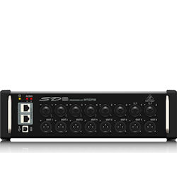 Behringer SD8 8-channel Digital Snake with 8 Remote-controllable Midas-designed Mic Pres and AES50 Network Port