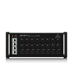 Behringer SD16 16-channel Digital Snake with 16 Remote-controllable Midas-designed Mic Pres and AES50 Network Port