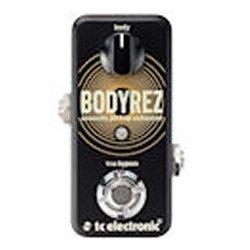 TC Electronic BodyRez Ultra-Compact Acoustic Pickup Enhancer Guitar Pedal