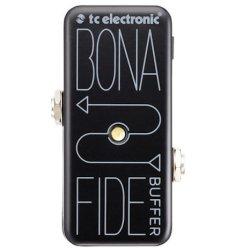 TC Electronic BonaFide Buffer All analog high-quality buffer Guitar Pedal